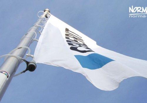 Tani maszt na flagi
